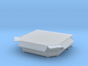 1/96 DKM Stern Deck Hatch v5 in Smooth Fine Detail Plastic