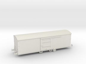 Box car in White Strong & Flexible