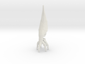 "Sovereign 8"" Scale Model in White Natural Versatile Plastic: Small"