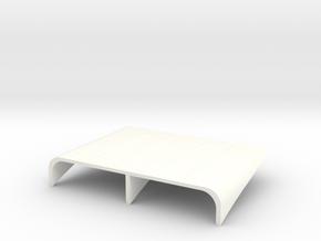 WX-3 Nose Air Intake in White Processed Versatile Plastic