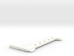 Wessex WX-65 Seat Frames Right Side in White Processed Versatile Plastic