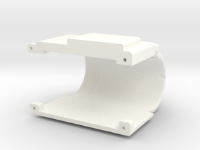Wessex Winch Body (electric Winch Cover) in White Processed Versatile Plastic
