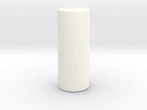 Whirlwind Uc Piston  in White Processed Versatile Plastic