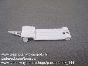 1/144 Sd Anh. 115  German tank transporter in White Strong & Flexible