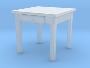 H0 Kitchen Table Square - 1:87 in Smooth Fine Detail Plastic