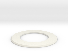 Goof ring in White Natural Versatile Plastic