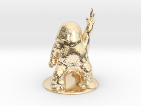 Dralasite Miniature in 14K Yellow Gold: 1:60.96