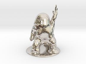 Dralasite Miniature in Platinum: 1:60.96