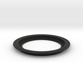 2651 - Tribute wheel, Tru-Fit beadlock - glue-in in Black Natural Versatile Plastic