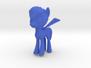 OC Pony 3 in Blue Processed Versatile Plastic
