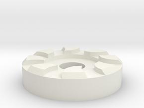 mag release button for hi capa in White Natural Versatile Plastic