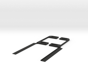 Chevy Volt Holder side pieces in Black Strong & Flexible