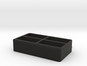Porta Telecomandi  in Black Strong & Flexible