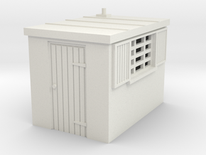 H-87-shed-1 in White Natural Versatile Plastic