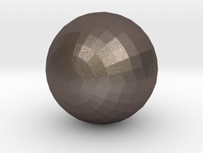 Ball in Polished Bronzed Silver Steel