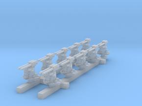 1/600 Kriegsmarine 37mm/83 SK C/30 x10 in Smoothest Fine Detail Plastic