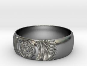 Martha - Ring in Polished Silver: 7.25 / 54.625