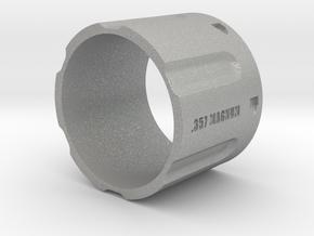 357 Magnum Cylinder, 6 shot, Ring Size 14 in Aluminum