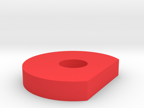 Lock Ring for Dr.Taly´s box mod´s in Red Processed Versatile Plastic