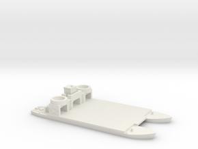 1/350 Siebelfahre 43 in White Natural Versatile Plastic