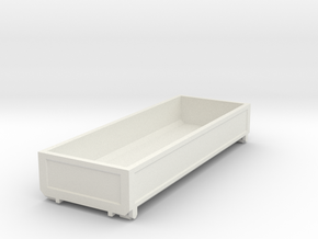 1052 Box in White Natural Versatile Plastic: 1:87 - HO