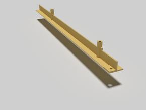 Elevator rail/pole/support beam for 1980s Castle G in White Natural Versatile Plastic