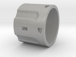 500 5-Shot Revolver Cylinder, Ring Size 10 in Aluminum