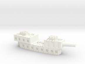 Fantasy Fleet First-Rate in White Processed Versatile Plastic