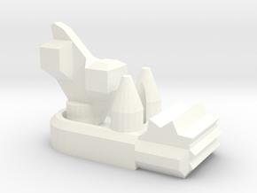 Big Chukka in White Processed Versatile Plastic
