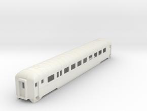 D&RGW Prospector Car  in White Natural Versatile Plastic