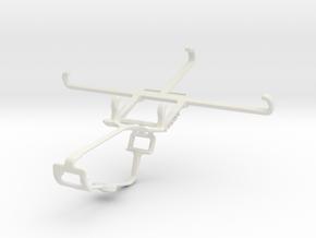 Controller mount for Xbox One & Motorola Moto G5 P in White Natural Versatile Plastic