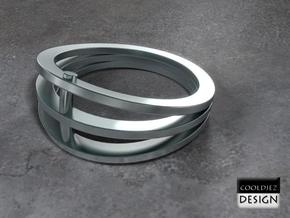Ring - Vizor in Stainless Steel