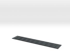Stanray 50ft Flat X Panel Roof HDA in Black Hi-Def Acrylate