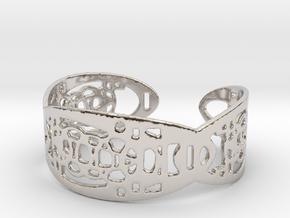 UI9 Design Bracelet 5,8 cm in Platinum