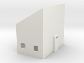 Electronics Box in White Natural Versatile Plastic