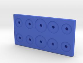 510 Vape Tank Holder 10x E-cig in Blue Processed Versatile Plastic