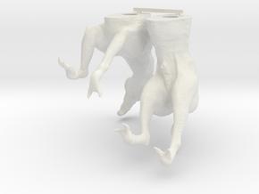 Daggerpaw 1:6 hollow version in White Natural Versatile Plastic
