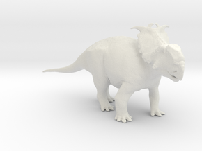 Pachyrhinosaurus canadensis - 1/72 in White Strong & Flexible