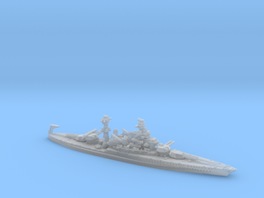 USN BB46 Maryland [early-war;1941] in Smooth Fine Detail Plastic: 1:1800