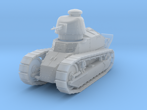 PV06C Renault FT MG Cast Turret (1/87) in Smooth Fine Detail Plastic