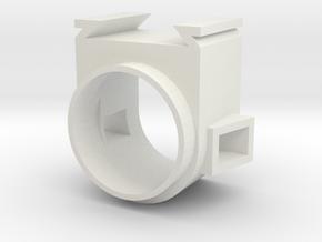 Housing Scaled V2 in White Natural Versatile Plastic