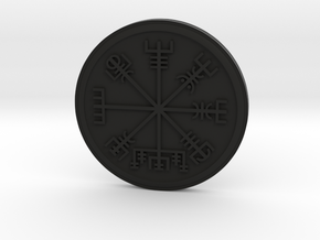 Vegvisir in Black Natural Versatile Plastic
