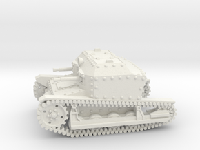 Tancik Vz33 Tankette 1-87 in White Natural Versatile Plastic