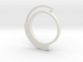 Mignolo 3 Fis in White Natural Versatile Plastic