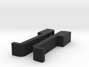 MAN F2000 Silent Body Door Handle in Black Natural Versatile Plastic