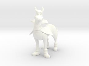 1:9 Scale Dynomutt Figure in White Processed Versatile Plastic