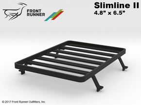 FR10025 Tundra Slimline II Bed Rack 4.8 x 6.5 in Black Strong & Flexible