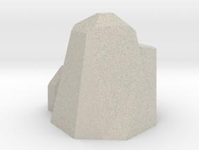 Septahedron in Natural Sandstone