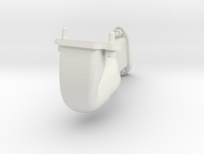 Le Rhone- 80hp - Intake Assembly - 1:4 Scale in White Natural Versatile Plastic