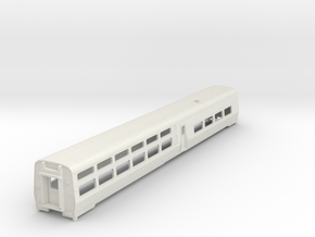 AMTRAK Viewliner2 Dining Car in White Natural Versatile Plastic